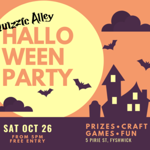 Quizzic Alley Halloween Party
