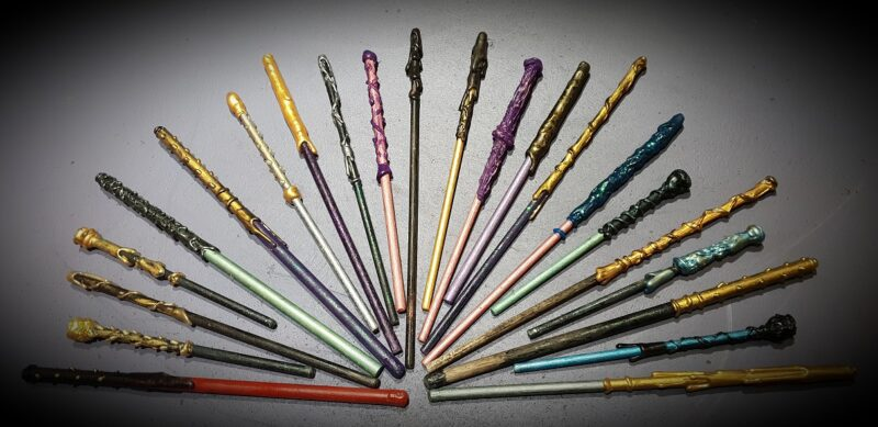 A selection of wands